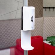 Sensor-Wall - Set dispensador de desinfectante para marcos extensibles y perfiles Quattro de 30