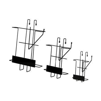Portafolletos metálico «Issel» para estantes