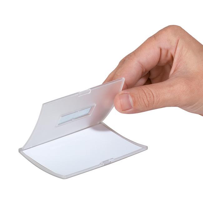 """Placa de identificación """"Click Fold"""""""