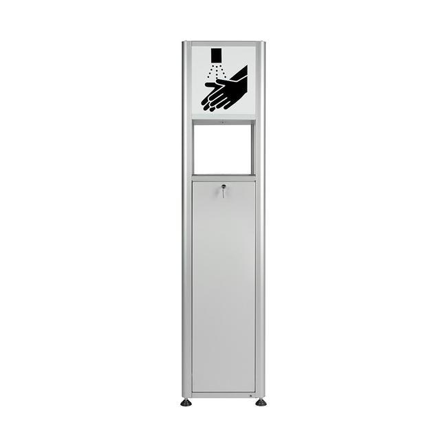Rótulo para estación higiénica «Sensor-Performance»
