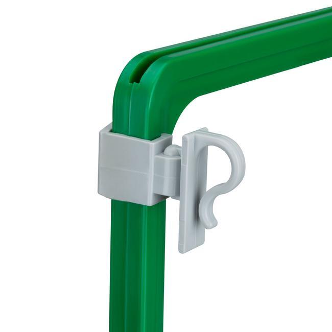 Clip para marco de plástico
