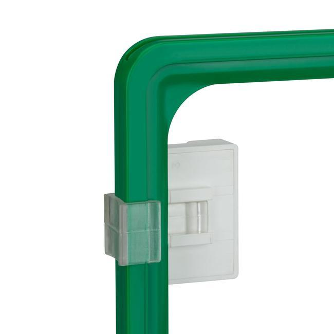 Clip para marco de pástico, parallel
