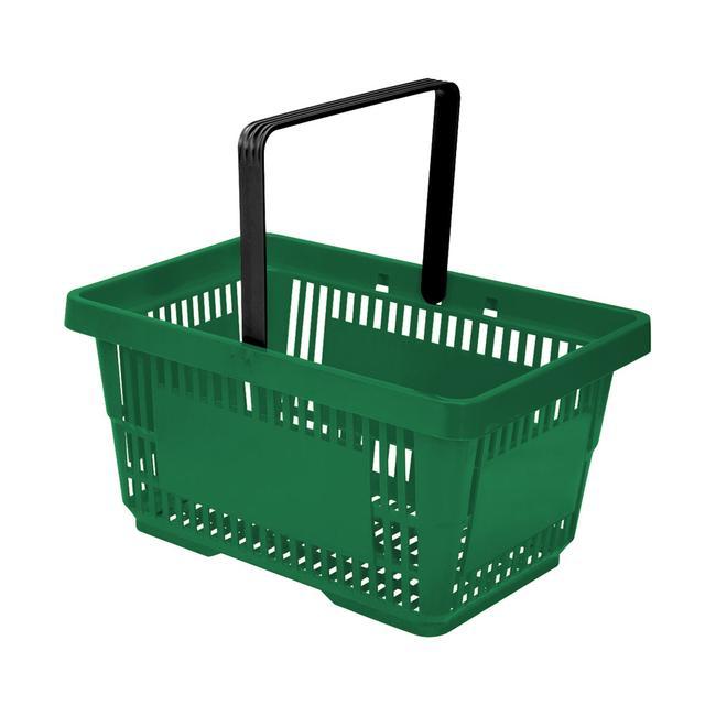 Cesta de compra plástico