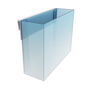 Portafolletos para estantes o cestas