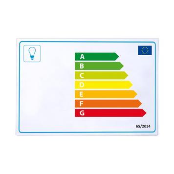 Cubierta protectora para etiqueta energética auto-adhesivo