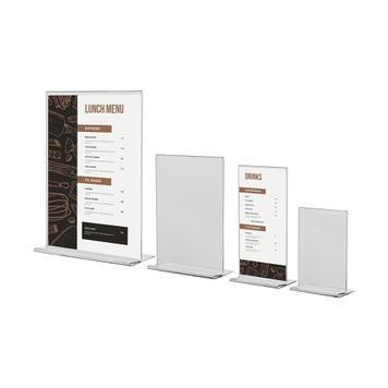 """Soporte de menú """"Arum"""" en formatos DIN"""