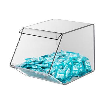 Caja de dulces de acrilico