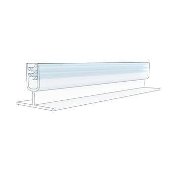 Gripper porta cartel  | Perpendicular