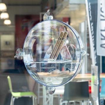 Expositor para ventanas Sphere