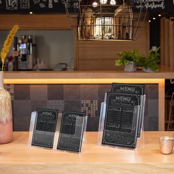 Portafolletos de sobremesa doble«Universum»