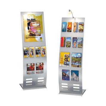 """Soporte de alambre para folletos para """"Techny"""", Info-Säule, """"Metropol"""" und """"Counter"""""""